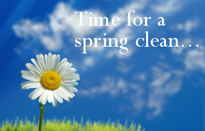 Spring Clean Your Clutter