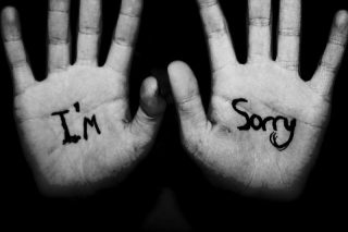 Can You Say You Are Sorry?